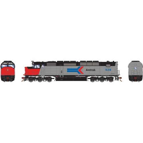 Athearn Genesis HO G63928 SDP40F, Amtrak #529