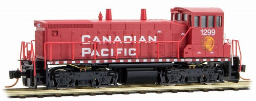 Micro-Trains N 98600131 SW1500 Diesel Switcher Locomotive, Canadian Pacific #1299