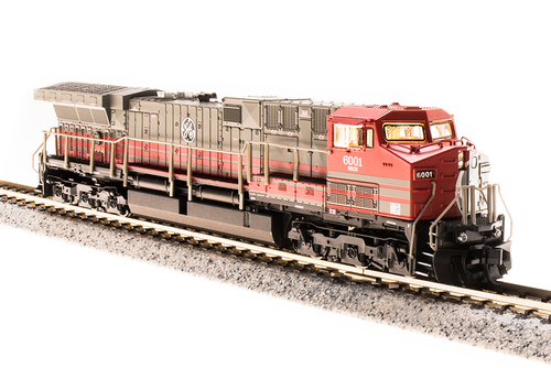 Broadway Limited Imports N 3749 GE AC6000, General Electric (Demonstrator) #6001 (Equipped with Paragon3 Sound and DCC)