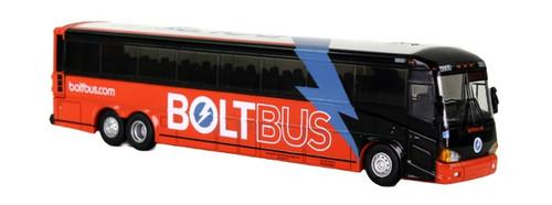 Iconic Replicas HO 87-0095 MCI D4505 Motorcoach, BoltBus Washington D.C.