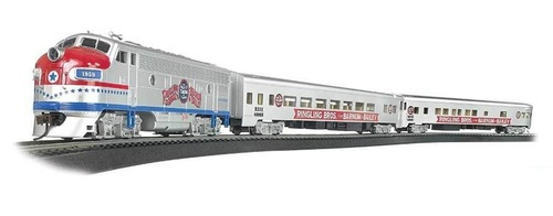 Bachmann HO 00749 Ringling Bros. & Barnum & Bailey Greatest Show on Earth Special Train Set