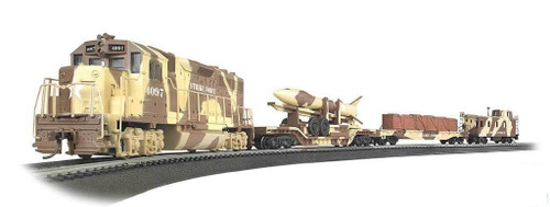 Bachmann HO 00752 US Army Strike Force Train Set