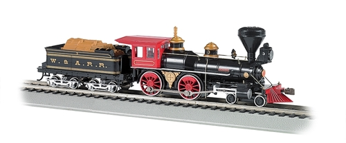 Bachmann Ho 52705 American 4 4 0 Steam Engine Western And