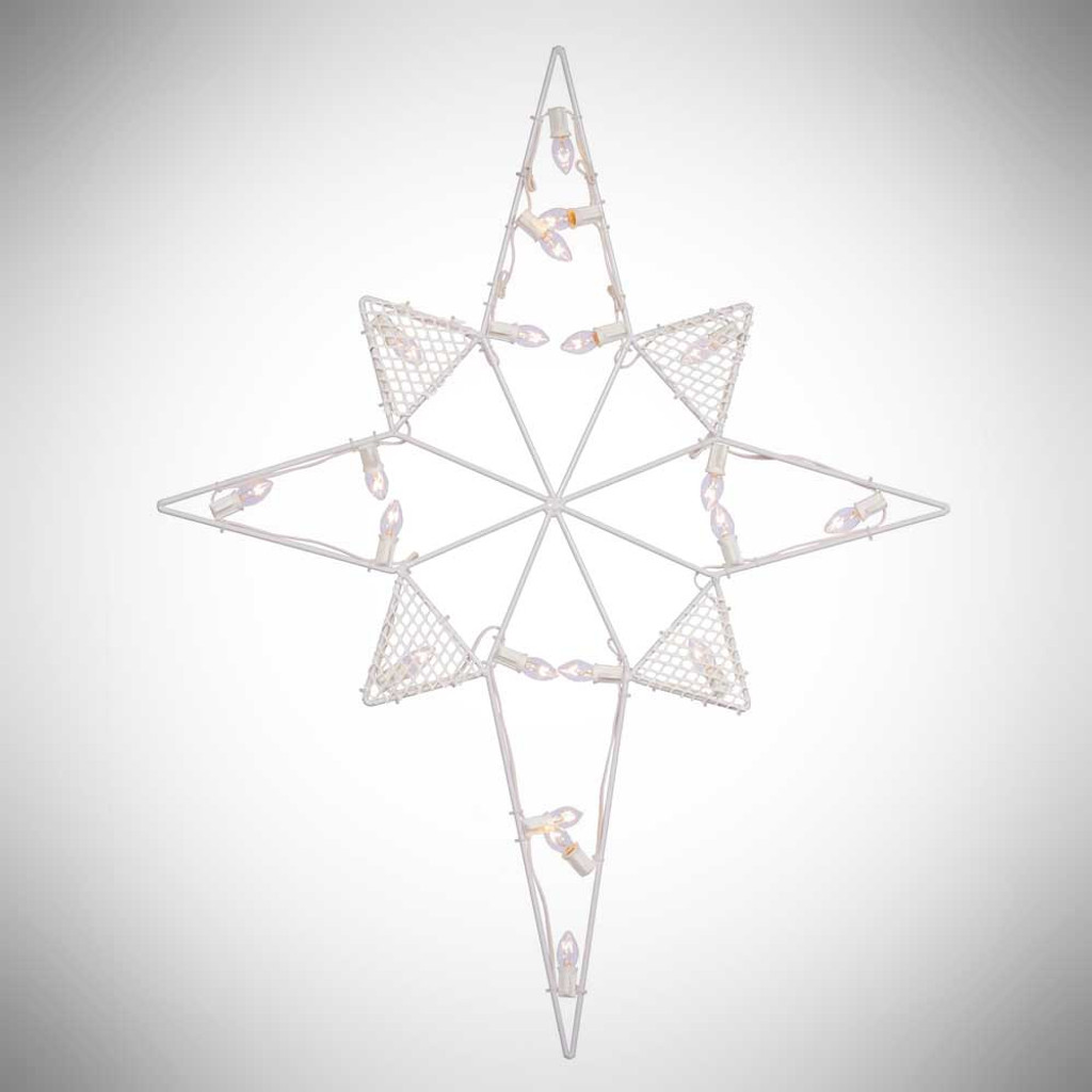 39 lighted outdoor star white c7 bulbs yonder star christmas shop llc 39 lighted outdoor star white c7 bulbs aloadofball Choice Image