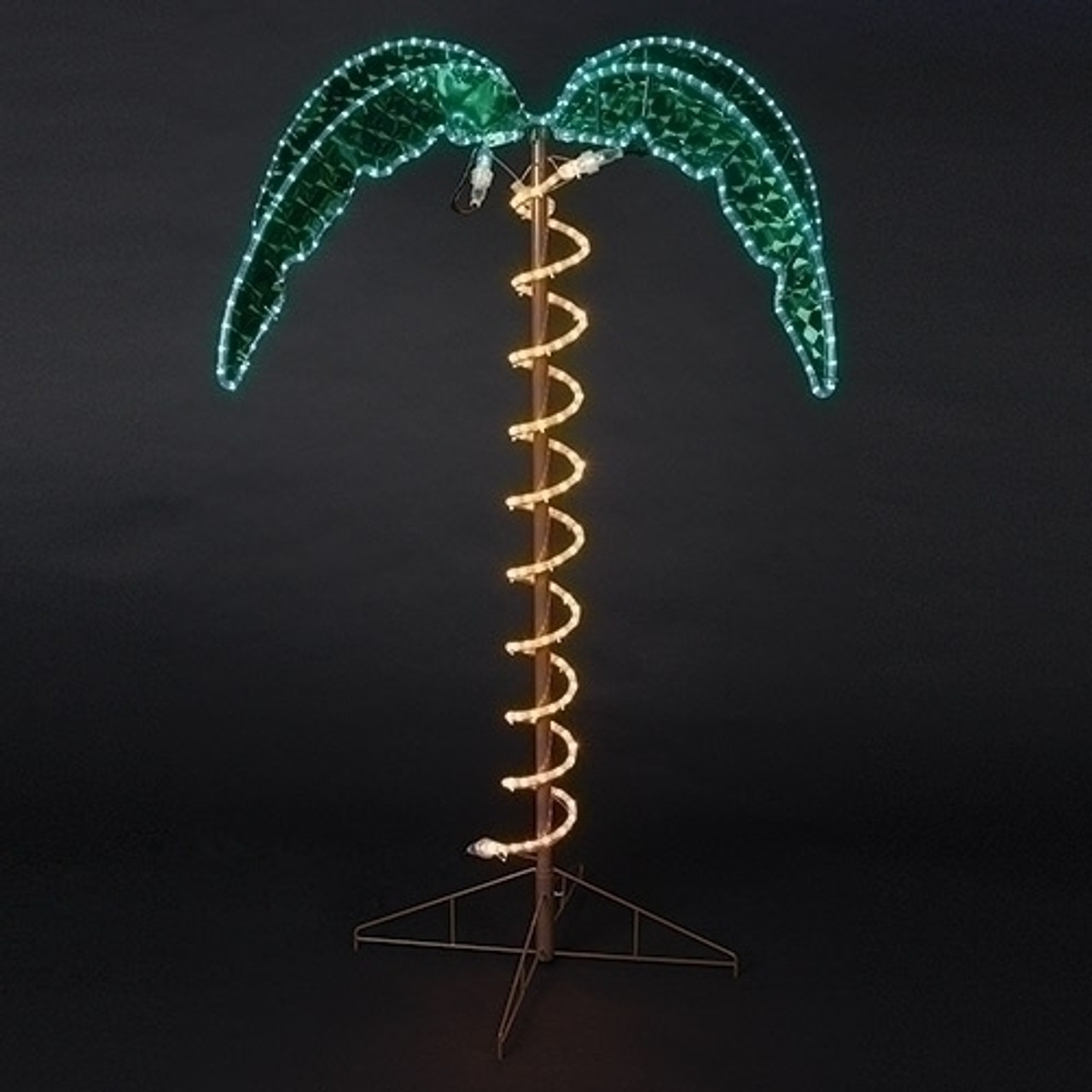 outdoor lighted palm tree 45 feet tall