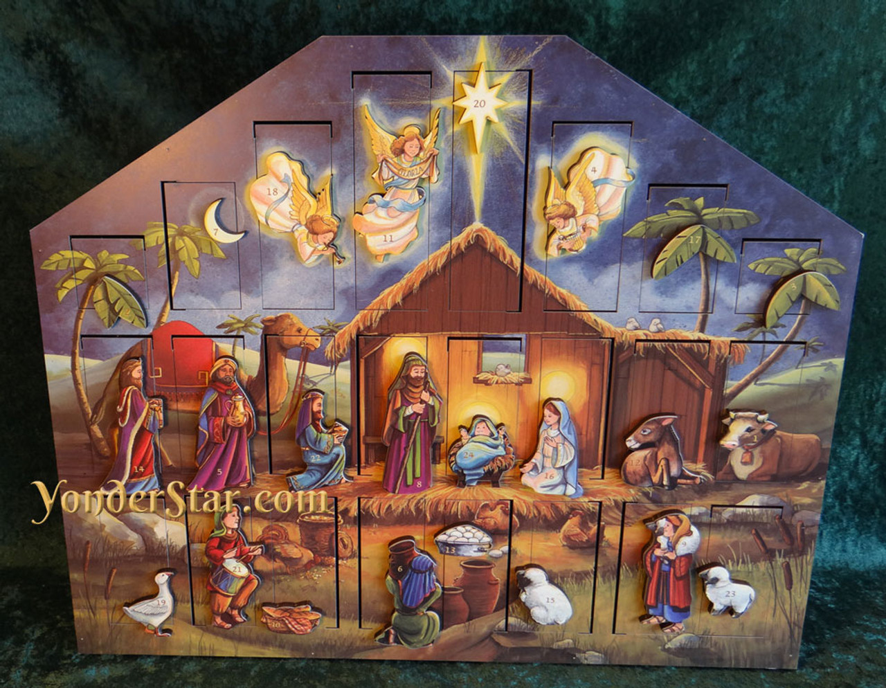 Heirloom Nativity Advent Calendar