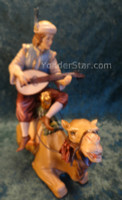 LEPI Venetian Nativity Page w Lute on Camel : Pre-Order
