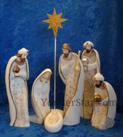 Wedding nativity set