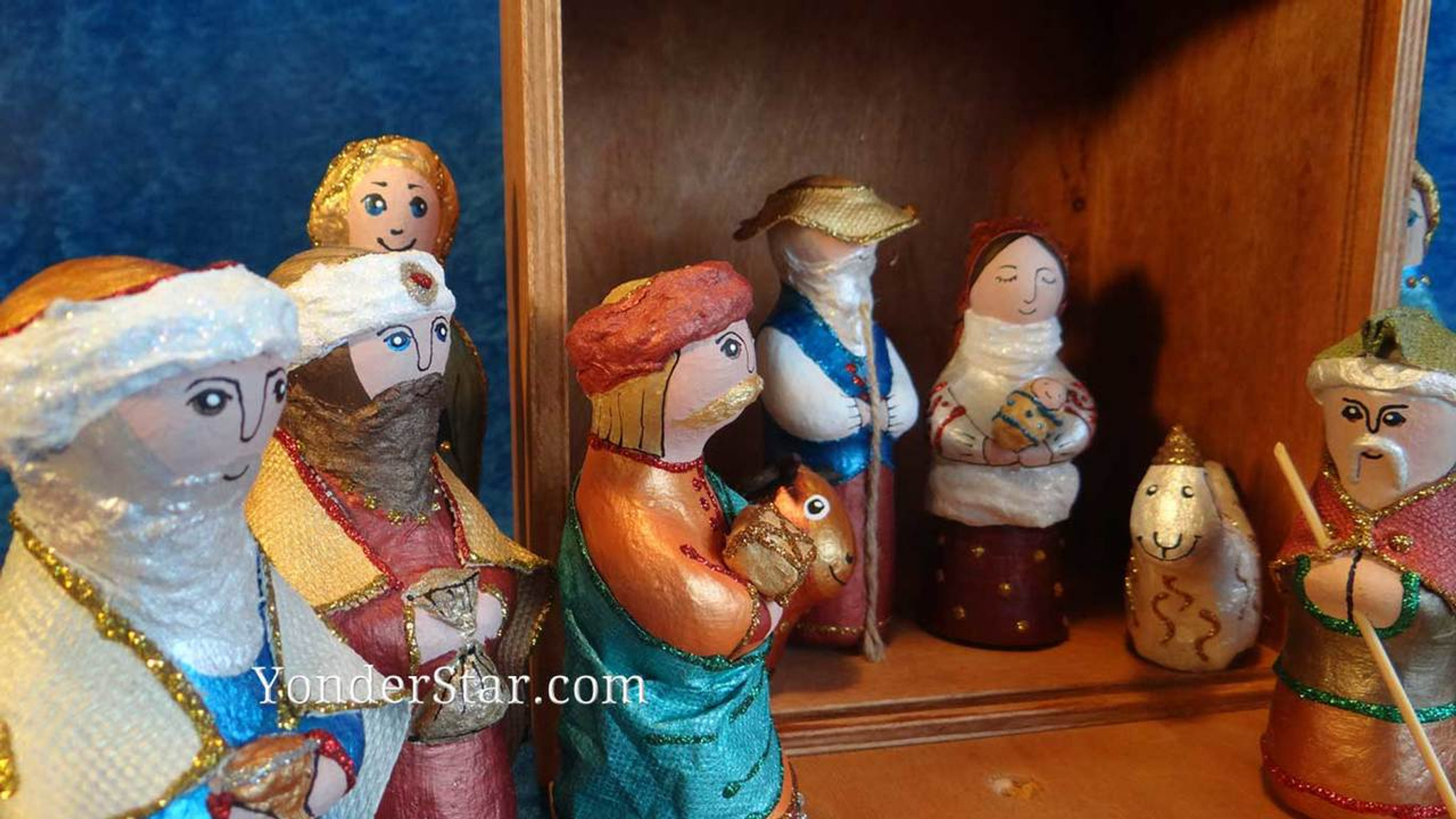 Ukraine Vertep Nativity