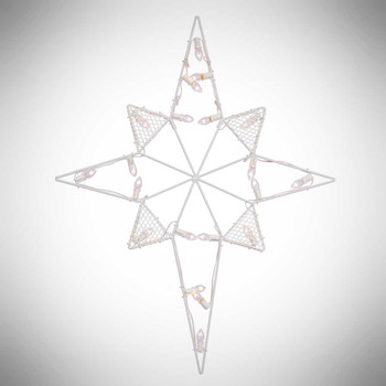 Outdoor Lighted Star Outdoor nativity sets lighted outdoor stars and decor yonder 39 lighted outdoor star white c7 bulbs workwithnaturefo