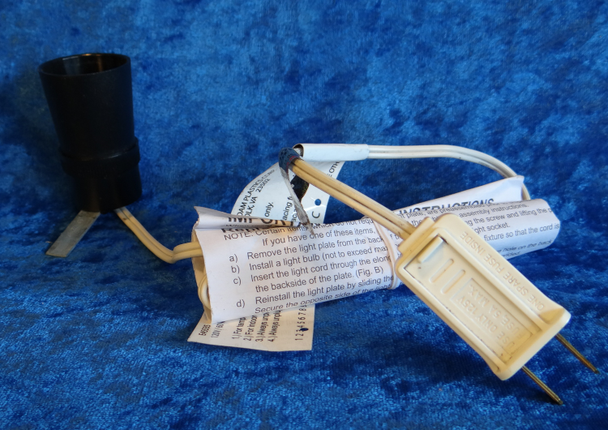 Replacement Light Socket for Large Nativity Figures