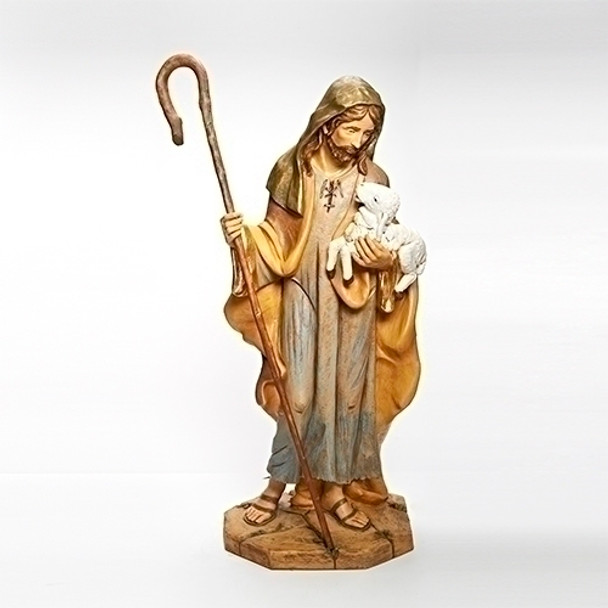 "Shepherd with Lamb for 50"" scale Fontanini Nativity"