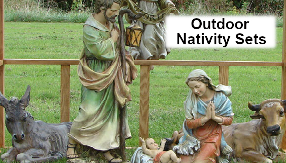 Outdoor nativity sets sorry, that