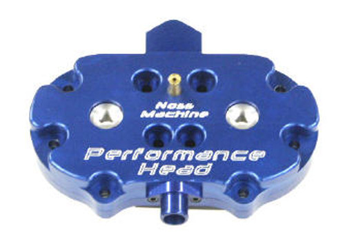 Blue Anodized Noss Performance Head