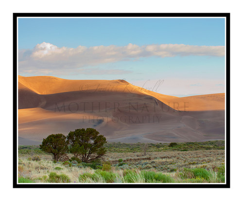 Sand Dunes at the Great Sand Dunes National Park, Colorado 1978