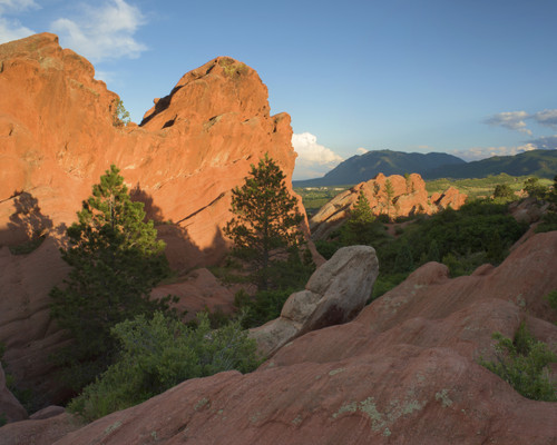 Garden of the Gods Detail in Colorado Springs, Colorado 2434