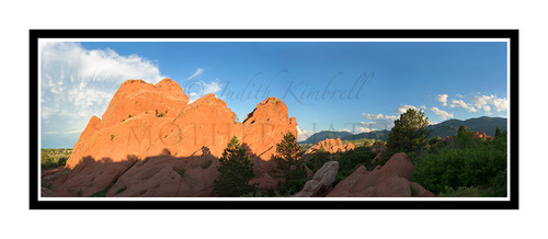 Garden of the Gods Detail in Colorado Springs, Colorado 2436