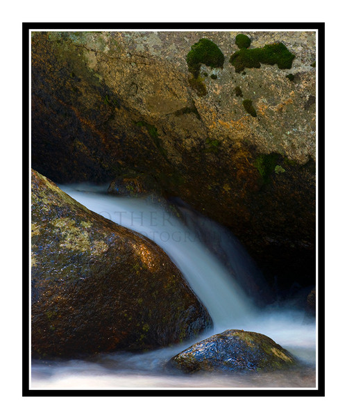 Chicago Creek Waterfall in the Woods at Mt. Evans, Colorado 1516