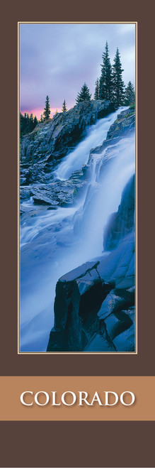 Colorado Bookmark - Yankee Boy Basin Waterfall 65 Front