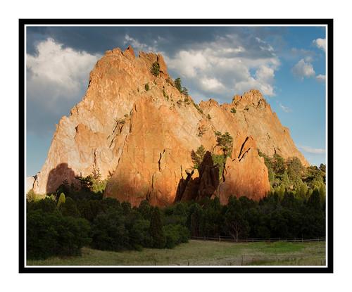 Kindergarten Rock in Garden of the Gods Colorado Springs, Colorado 2801