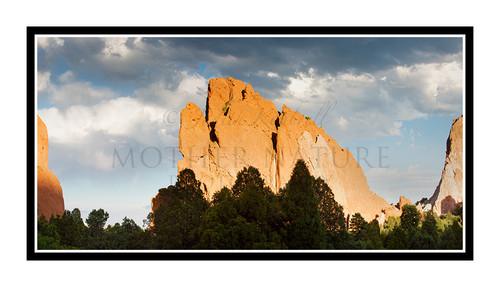 Garden of the Gods Colorado Springs, Colorado 2800 Pano