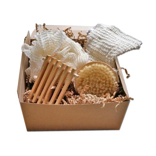All Natural Bath Accessory Gift Box