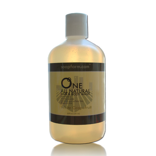 ONE Natural Hair & Body Wash, Paraben & Sulfate Free