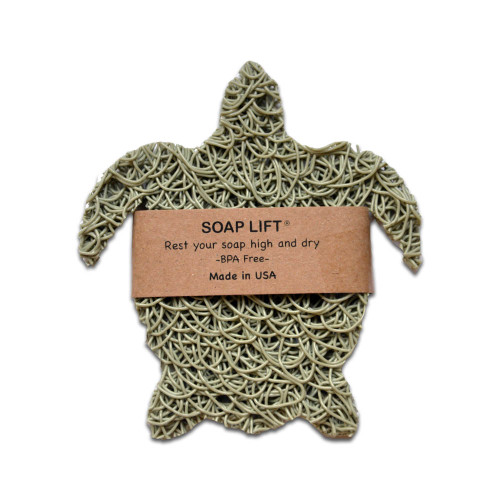 Soap Lift in sea green turtle