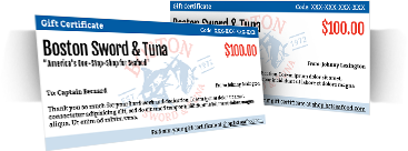 BST Gift Certificates