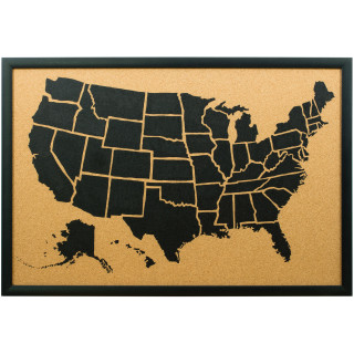 Wayfarer Illustrated, United States Push Pin Map
