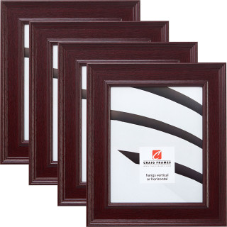 """Revival 2"""", 4 Piece Mahogany Picture Frame"""