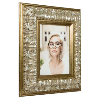 "Barroco 3.125"", Antique Silver Picture Frame"