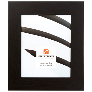 "Bauhaus 200 2"", Black Oak Picture Frame"
