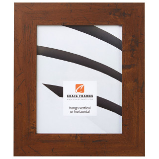 "Bauhaus 200 2"", Dark Walnut Picture Frame"