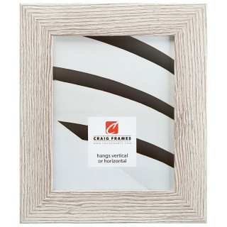 "Bauhaus 200 2"", Restoration White Picture Frame"