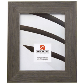 "Bauhaus 200 2"", Textured Gray Oak Picture Frame"