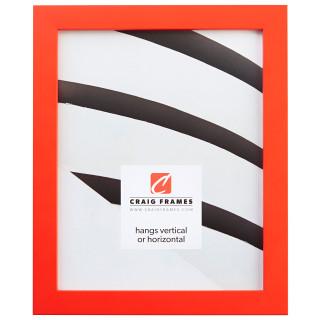 """Confetti .875"""", Tangerine Picture Frame"""