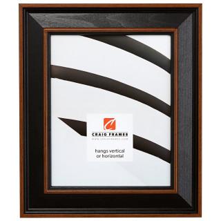 "Country Estate 2"", Black Hardwood Picture Frame"