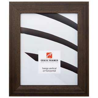 "Driftwood 15 1.5"", Weathered Black Picture Frame"