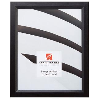 """Economy .875"""", Ebony Hardwood Picture Frame"""