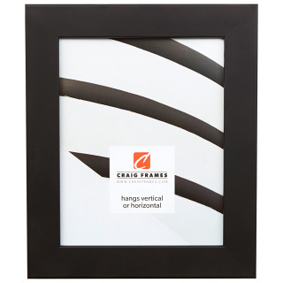 "Fiftynine 1.5"", Gallery Black Picture Frame"