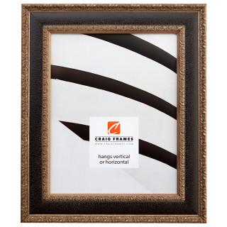"Galerie 1.75"", Antique Black & Silver Picture Frame"