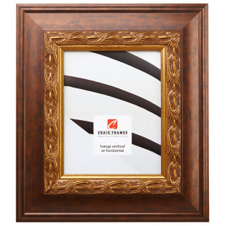 "Gotham 3.5"", Gold & Bronze Picture Frame"