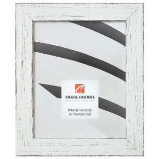 """Jasper 1.5"""", Marsmallow Weathered Picture Frame"""