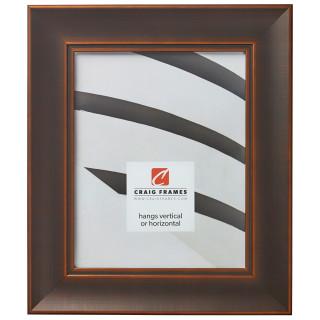 "Metropolis 200 2"", Antique Bronze Picture Frame"