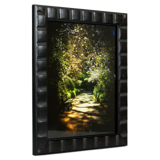 """Mosaic 1.375"""", Erie Black Picture Frame"""