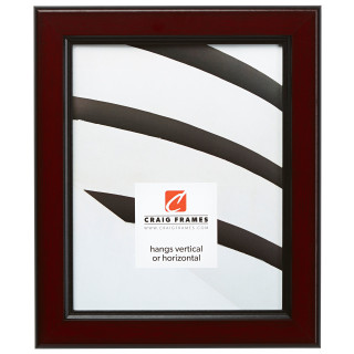 """Mossehaus 1.375"""", Warm Mahogany Picture Frame"""