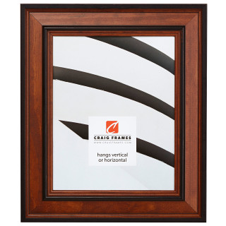 """Prairie 2"""", Country Honey Picture Frame"""