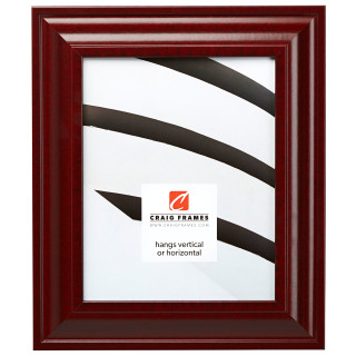 """Upscale 2"""", Red Mahogany Picture Frame"""