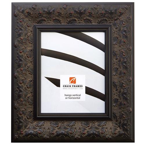 Borromini Black Walnut Gothic Style Picture Frame - Craig Frames
